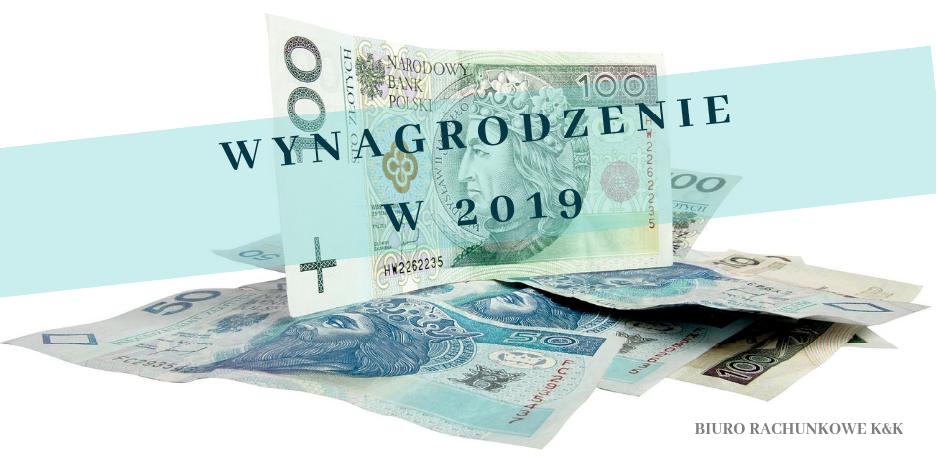 Prawo pracy – zmiany od 2019 – wynagrodzenie